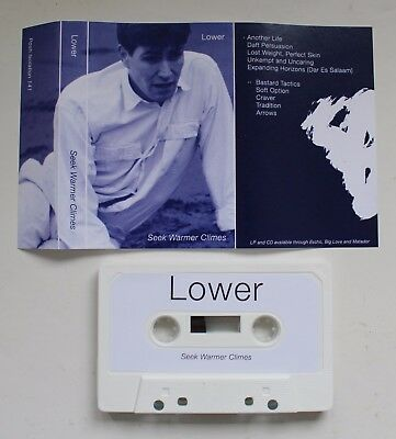 Lower - Seek Warmer Climes Tape (Post-Punk, Age Coin, Iceage, The Cure)