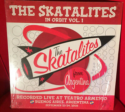 The Skatalites:  In Orbit Vol. 1 - Live from Argentina , red Vinyl, 2 LP,