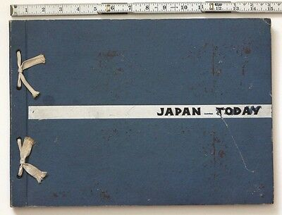 "WWII Album ""Japan Today"" A Portfolio of Sketches, Tokyo-Yokohama Area, 1945-1946"