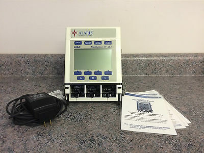 Alaris IVAC MedSystem III 2865B w/ 90 Day Warranty and PM'd.