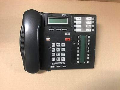 Nortel T7316E IP Phone Lot of 8 w/handsets & stands Used