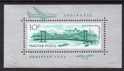 Hungary MNH 1964 Opening of Reconstructed Elizabeth Bridge M/S