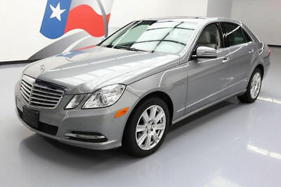 2013 Mercedes-Benz E-Class Base Sedan 4-Door 2013 MERCEDES-BENZ E350 LUX P1 SUNROOF NAV REAR CAM 76K #667807 Texas Direct