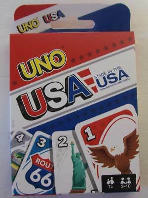 Mattel Uno USA Family Card Game NEW Ages 7 and up! 2 10 Players Lots of Fun!!!