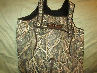 LaCrosse Mens MEDIUM, BOOT 9 Super Brush Tuff 1200 Mossy Oak Shadow Grass Blades