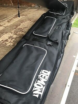 Demon Padded Wheeled Snowboard Bag Great Cond No R