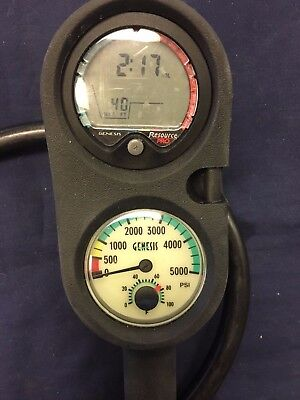 Genesis Resource Pro Dive Computer with Pressure Gauge and Compass