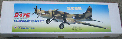 RARE Marutaka (Royal) R/C Boeing B-17E airplane kit complete (Midwest, Pica, Sig