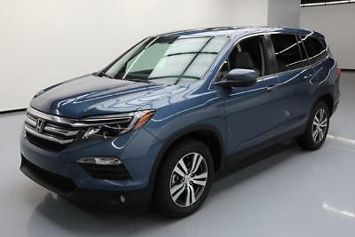 2016 Honda Pilot EX-L Sport Utility 4-Door 2016 HONDA PILOT EX-L HTD LEATHER REAR CAM 3RD ROW 25K #045863 Texas Direct Auto