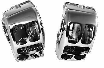 Custom Chrome Replacement Switch Housing Kit Harley FLH/T 14-16 Repl 71500185