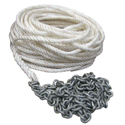 """Powerwinch 300' of 1/2"""" Rope 15' of 1/4"""" HT Chain Rode [P10295]"""