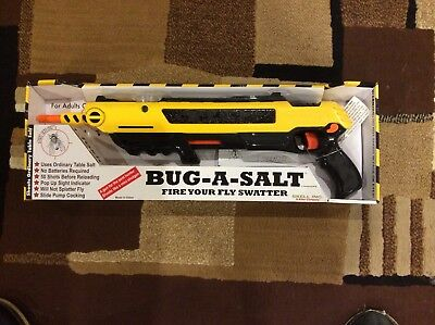 Bug-A-Salt Gun  Ultimate Spider Gun Original Bug-A-Salt Gun