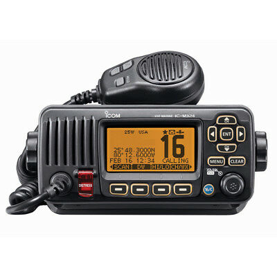 Icom M324 Vhf Radio-Black [Ic-M324 01]