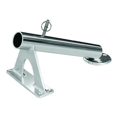Rupp Fixed Mount Center Rigger Holder 27 Degrees Silver [Ca-0002]