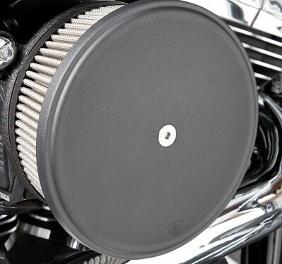 Arlen Ness Big Sucker Stage II Air Filter Kit W/Cover SS Filter Black For HD XL