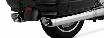 Vance & Hines GL Monster Dual Slip-On Exhaust For Honda Chrome 19405