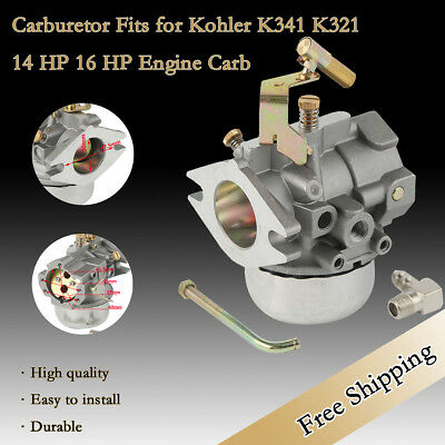 Carburetor Fits for Kohler K341 K321 14 HP 16 HP Engine Carb Replace #30 Carb