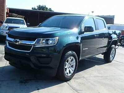 2016 Chevrolet Colorado LT 2016 Chevrolet Colorado LT Crew Cab Wrecked Repairable Nice Color Priced to Sell