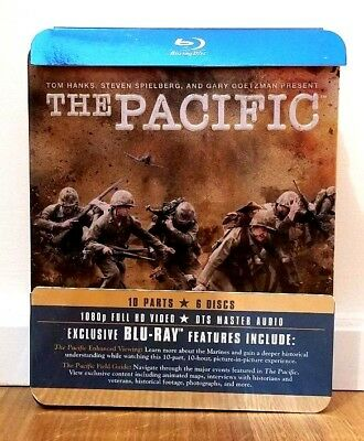 HBO: The Pacific (6-Disc Blu-ray Set) OOP Collectible Metal Tin!