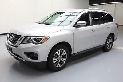 2017 Nissan Pathfinder  2017 NISSAN PATHFINDER SV 7-PASS REAR CAM BLUETOOTH 15K #663353 Texas Direct