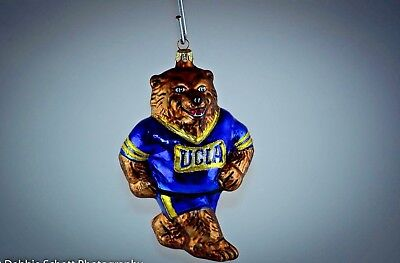 "RARE VINTAGE Slavic Treasures ""UCLA"" Holiday Ornament"