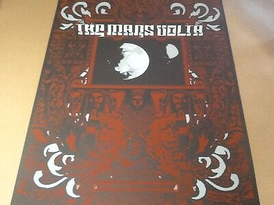 Mars Volta poster Jared Connor Berkeley CA 07 mint red hot chili peppers CAL