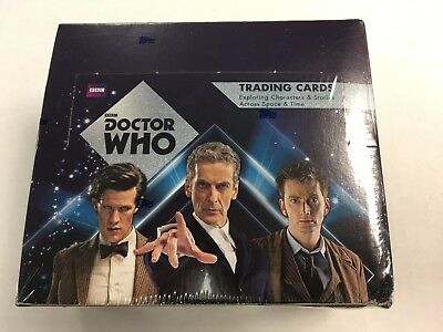 2015 Topps BBC Dr Doctor Who Autographs Hobby Box Factory Sealed Trading Cards