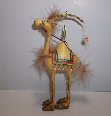 DEPT 56 Patience Brewster Harold The CAMEL Christmas Ornament