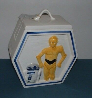 *darth Vader, C3Po & R2D2 2 Sided Cookie Jar - Sigma - Excellent Condition