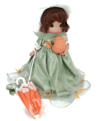 """Precious Moments Disney Park Exclusive Mary Poppins Boo Green Halloween 12"""" Doll"""