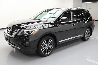 2017 Nissan Pathfinder  2017 NISSAN PATHFINDER PLATINUM 4X4 SUNROOF NAV 21K MI #609845 Texas Direct Auto