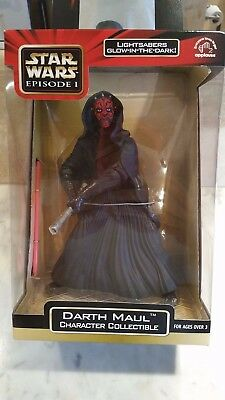 "STAR WARS DARTH MAUL 9"" CHARACTER COLLECTIBLE Figure Statue Unopened Applause"