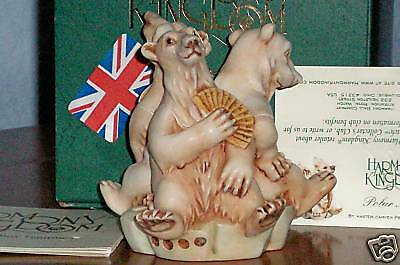 Harmony Kingdom Polar Melt Bears RW Mbrs Exc. UK Made Box Figurine