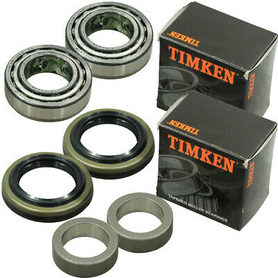 Timken Rear Wheel Bearing Kit Jeep Grand Cherokee Wj Wg 1999-2005 - Kt2769