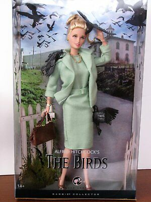Alfred Hitchcock's The Birds Barbie, NRFB, 2008