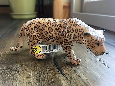 SCHLEICH Retired Jaguar Figure #14359 NEW with Tag