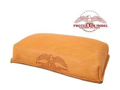 Protektor Model Empty #16 Brick Bag Gun Rest Bench Shooting Leather Arm Rest