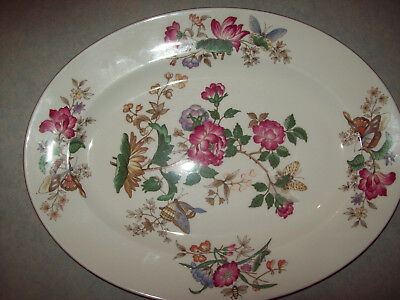 """Wedgwood Platter - 17"""" - Charnwood - Wd 3984 - Excellent - Discontinued"""