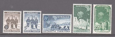 AAT 1959 Set 5 Definitives mint unhinged