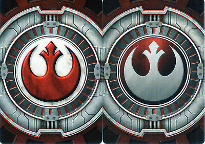 Star Wars X-Wing Miniatures Rebel & Resistance Pilot Cards from FFG