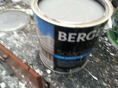Berger By Dulux 4 Litre Solascreen Exterior Low/sheen Dark-Grey Color Paint
