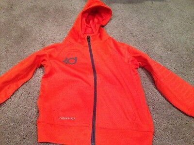 Nike Kevin Durant Hoody Sweatshirt. Thermafit. Youth 7. Brand New
