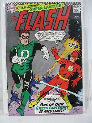 Flash 168 HIGH GRADE Silver Age Key Issue Must Have