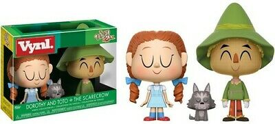 Wizard Of Oz - Dorothy and Scarecrow Funko Vynl.: Toy