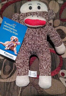 Interceptor Promotional Sock Monkey Dog Toy