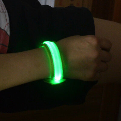 Reflective LED Light Arm Armband Strap Safety Belt For Night Running Cycling id