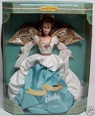 Angel of Joy 1998 Barbie Doll - First in a Series-Timeless Sentiments Collection