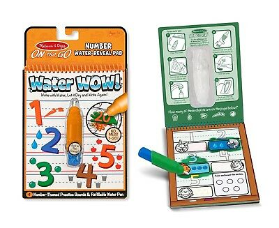 (Water Wow! Learning Bundle - Alphabet, Numbers, Colors & Shapes) - Melissa &