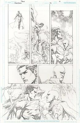Action Comics issue 971 page 12 by Stephen Segovia