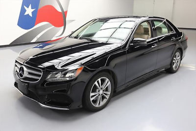 2015 Mercedes-Benz E-Class Base Sedan 4-Door 2015 MERCEDES-BENZ E350 SEDAN SPORT P1 SUNROOF NAV 24K #132750 Texas Direct Auto
